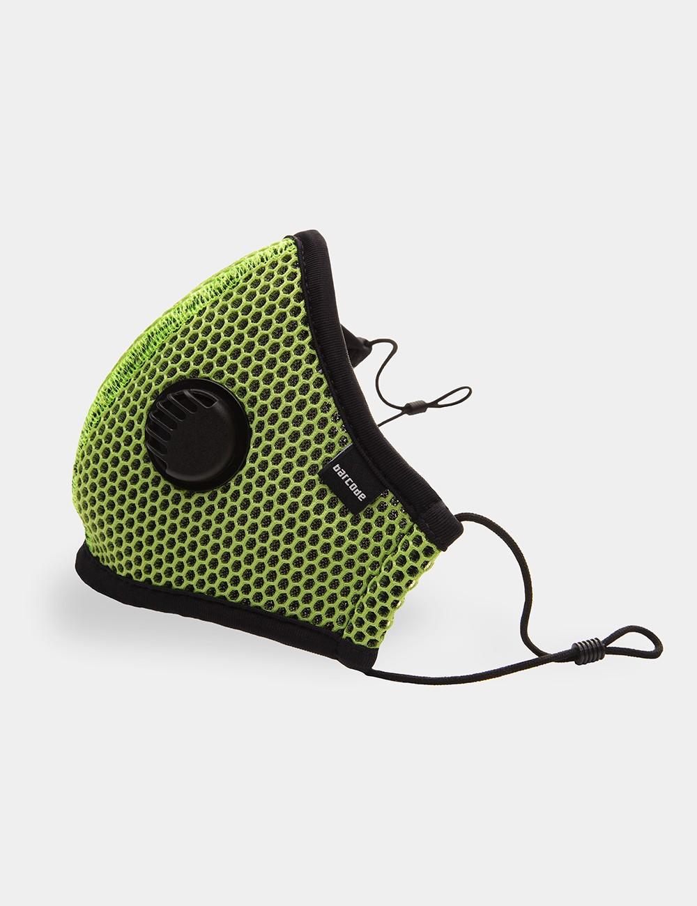 Barcode Berlin Mask Gunnery Sergeant Lennox | Green