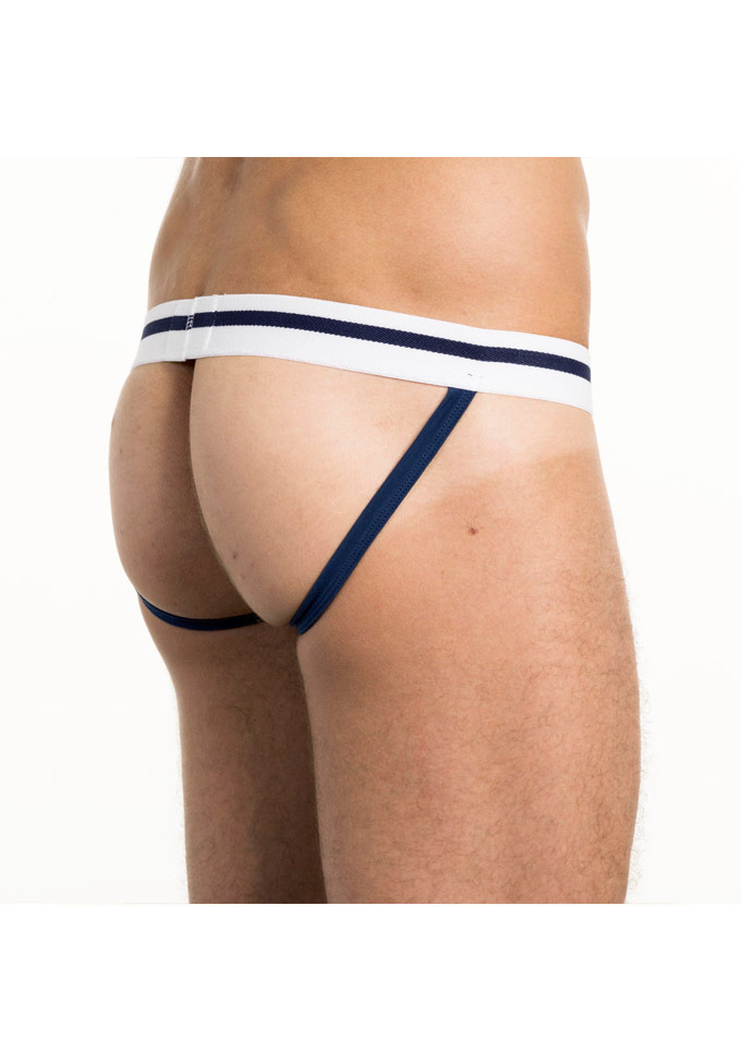 Bluebuck Nautical Stripes Jockstrap