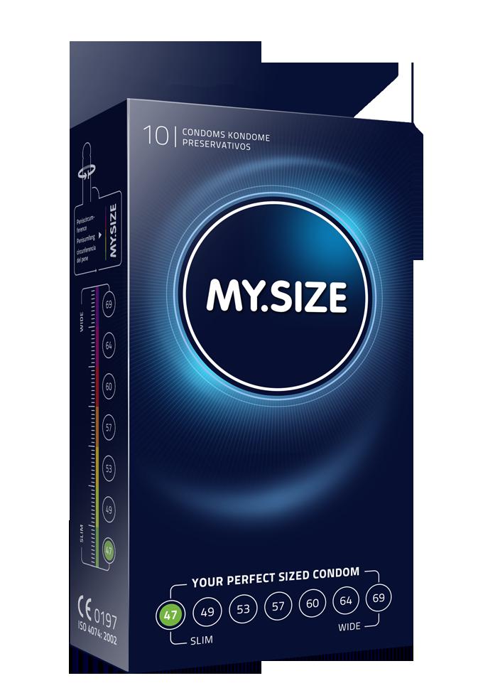 My.Size Kondome - Grösse 47