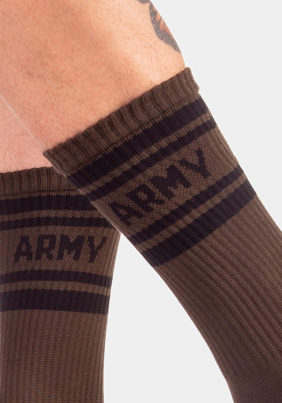 Barcode Berlin Camp Socks Army