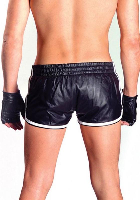 Mr. B Leder Sport Shorts