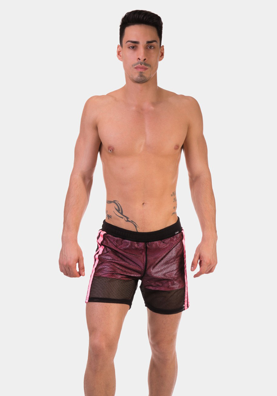 Barcode Berlin 91655 Mesh Short Rogel