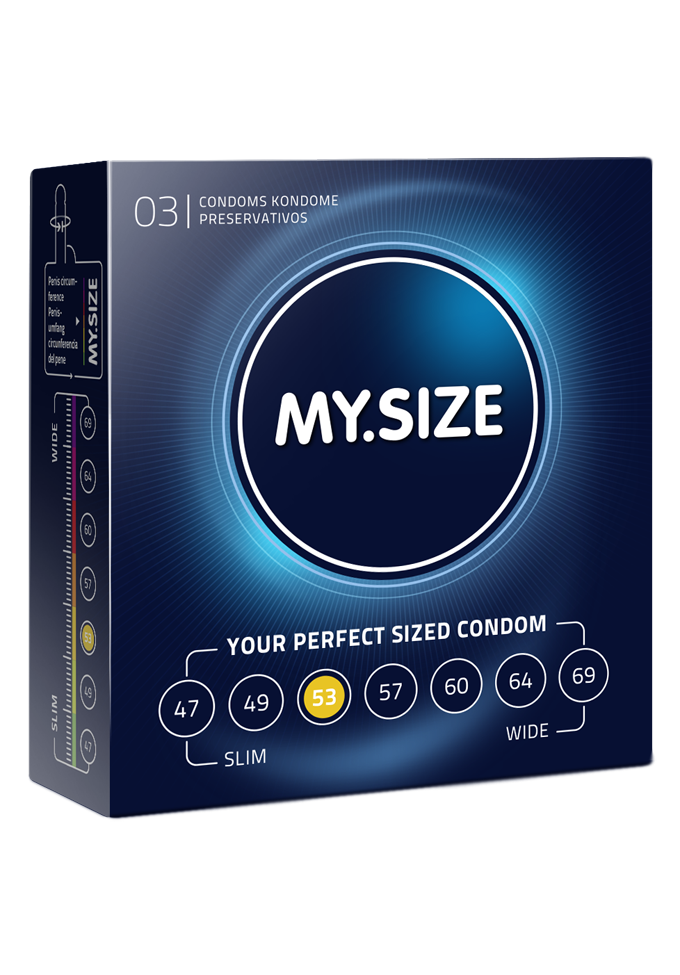 My.Size Kondome -  Grösse 53