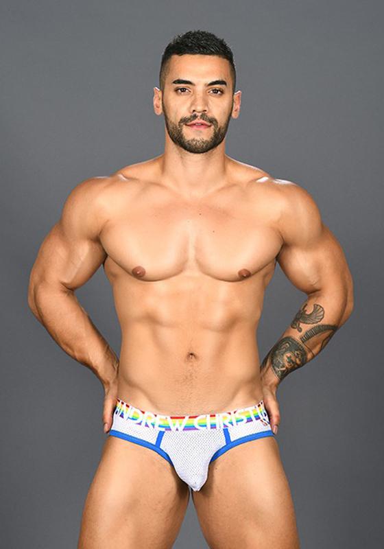 Andrew Christian 91049 Pride Mesh Brief