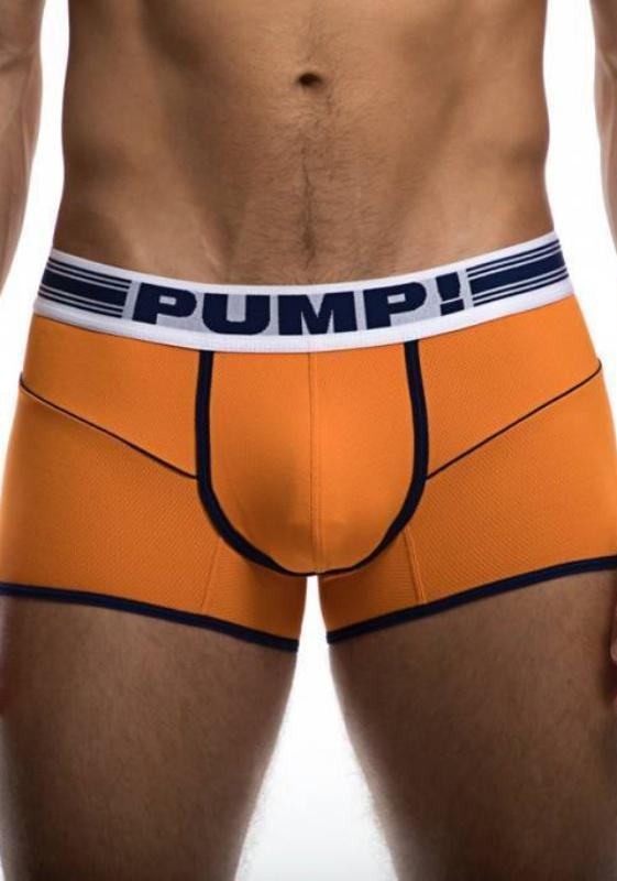 PUMP 11075 oran/wht/nvy XL Varsity Free-Fit Boxer