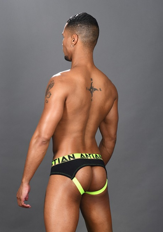 Andrew Christian 91399 black CoolFlex Arch Jock Show-It