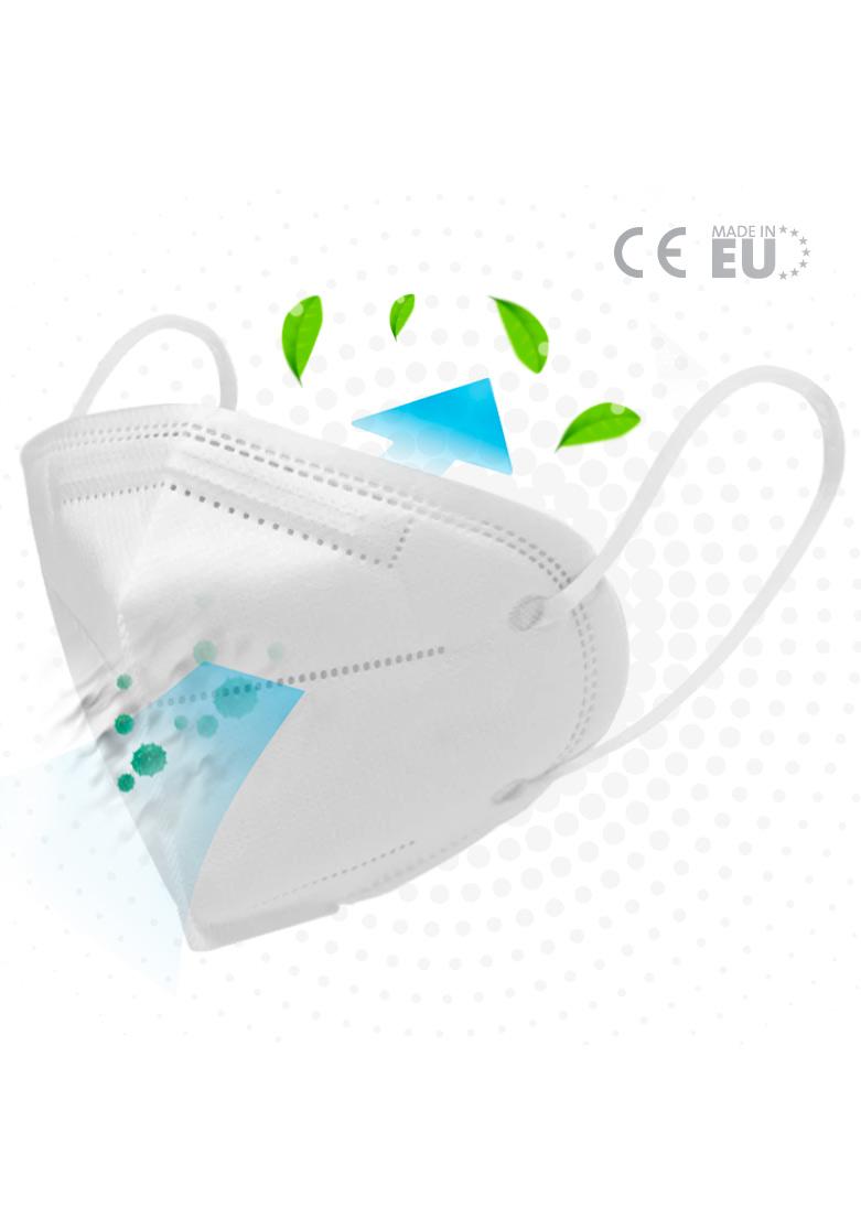 FFP2 Atemschutzmaske 2-Pack (white)