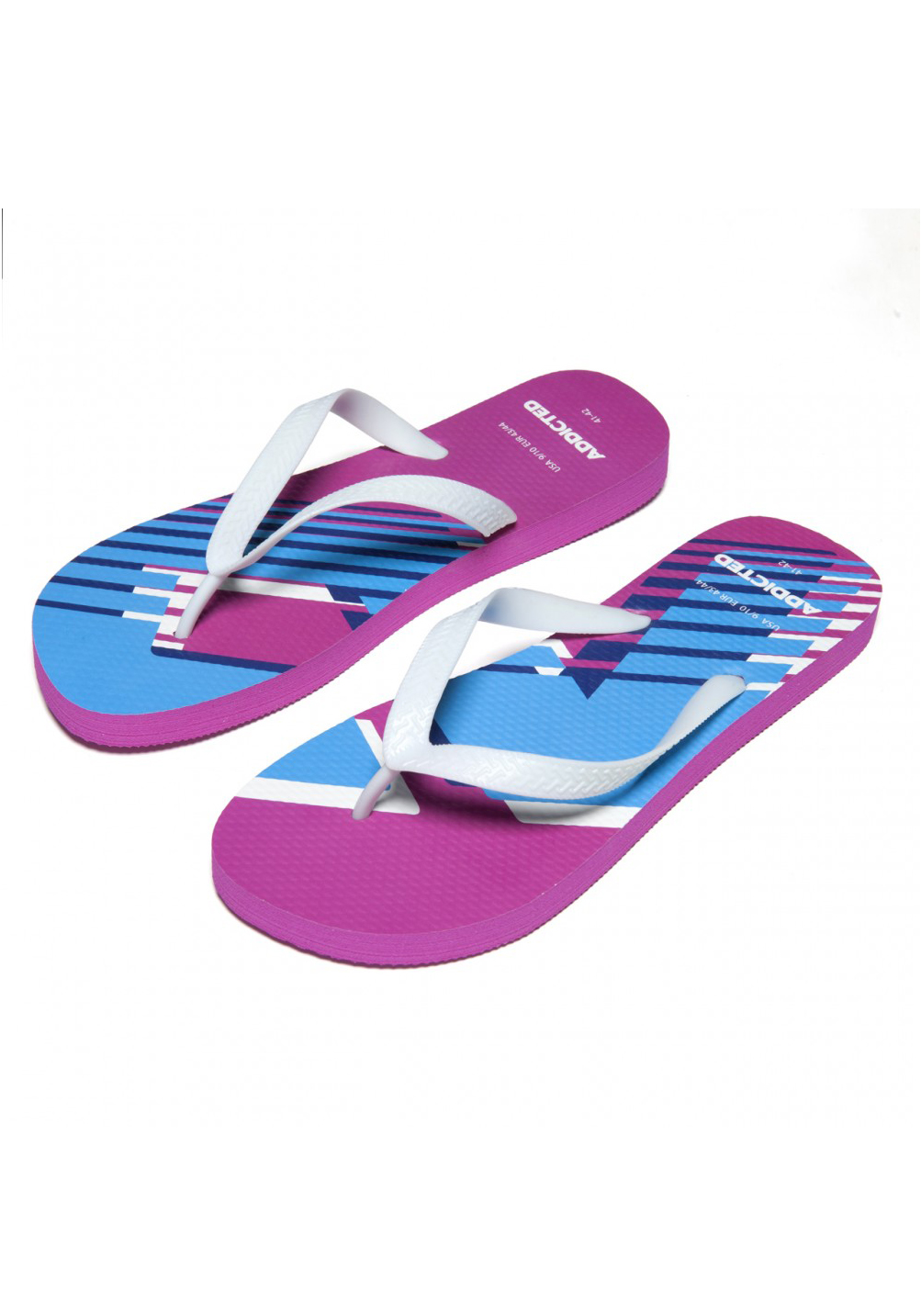 ADDICTED Logo Flip Flop