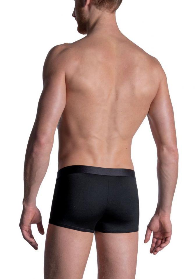 Manstore Bungee Pants | Black/Red