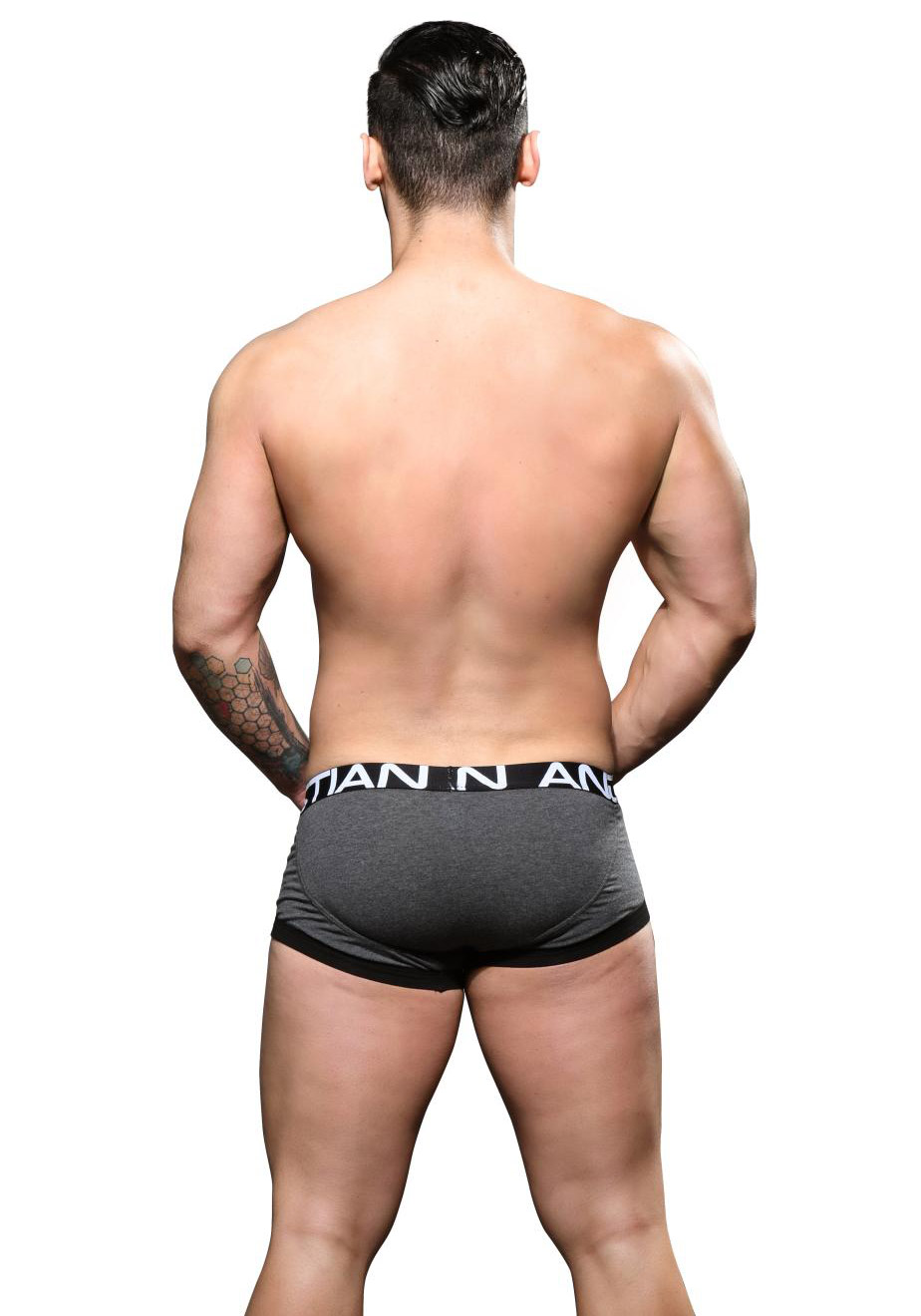 Andrew Christian FlashLift Boxer w/ Show-It | Charcoal