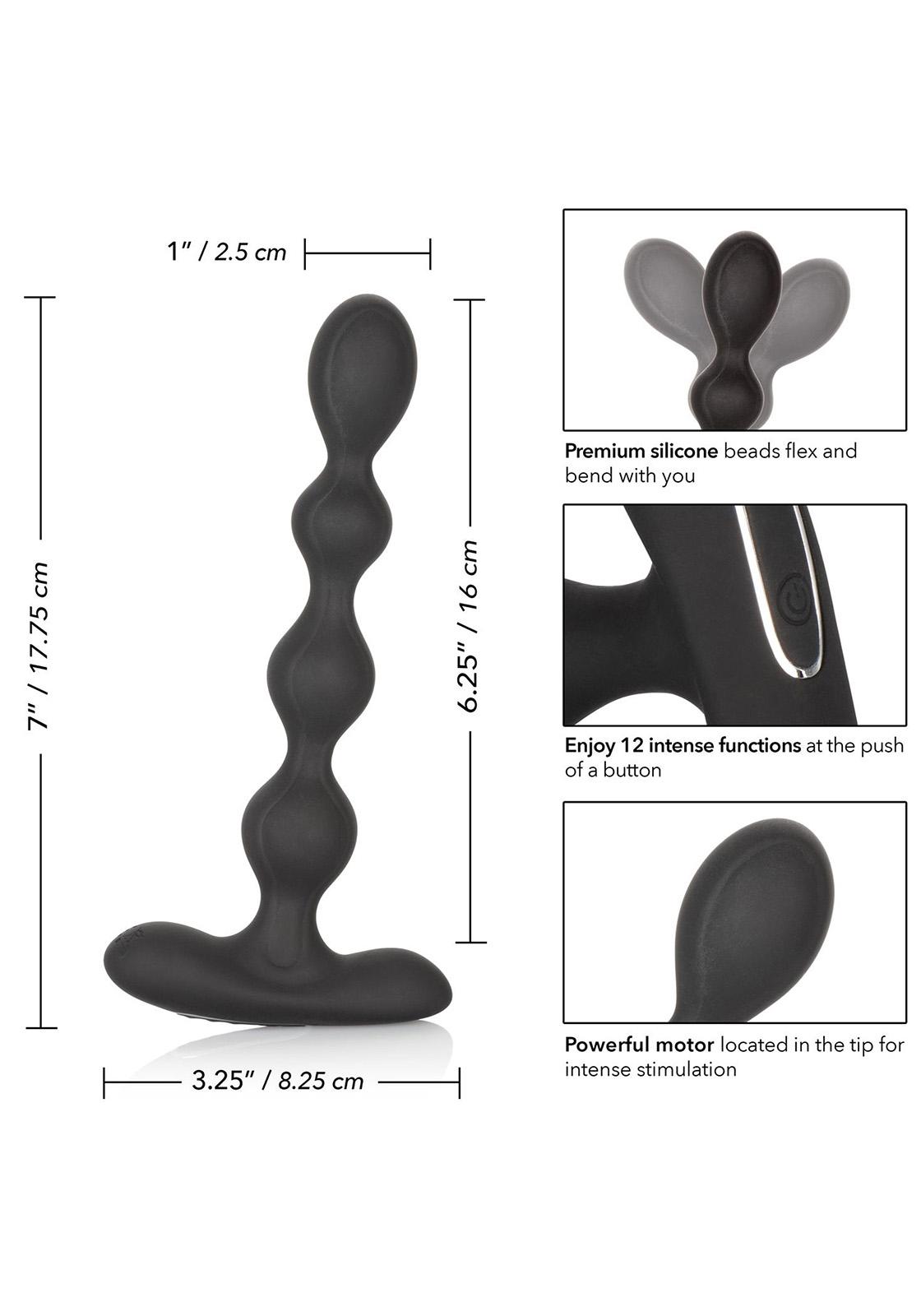 CalEx: Eclipse Slender Beads   Analkugeln mit Vibration