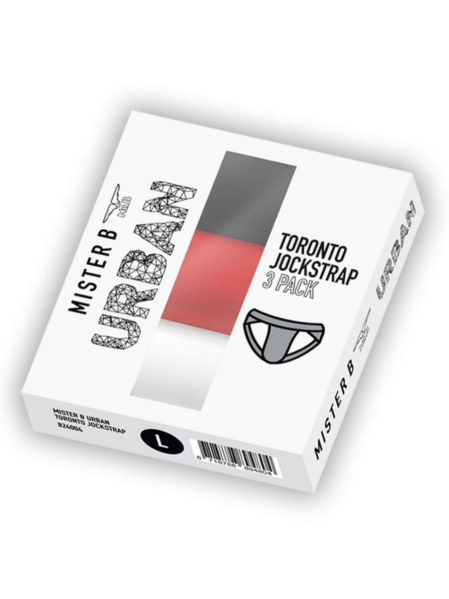 Mister B Urban Toronto Jockstrap 3-Pack
