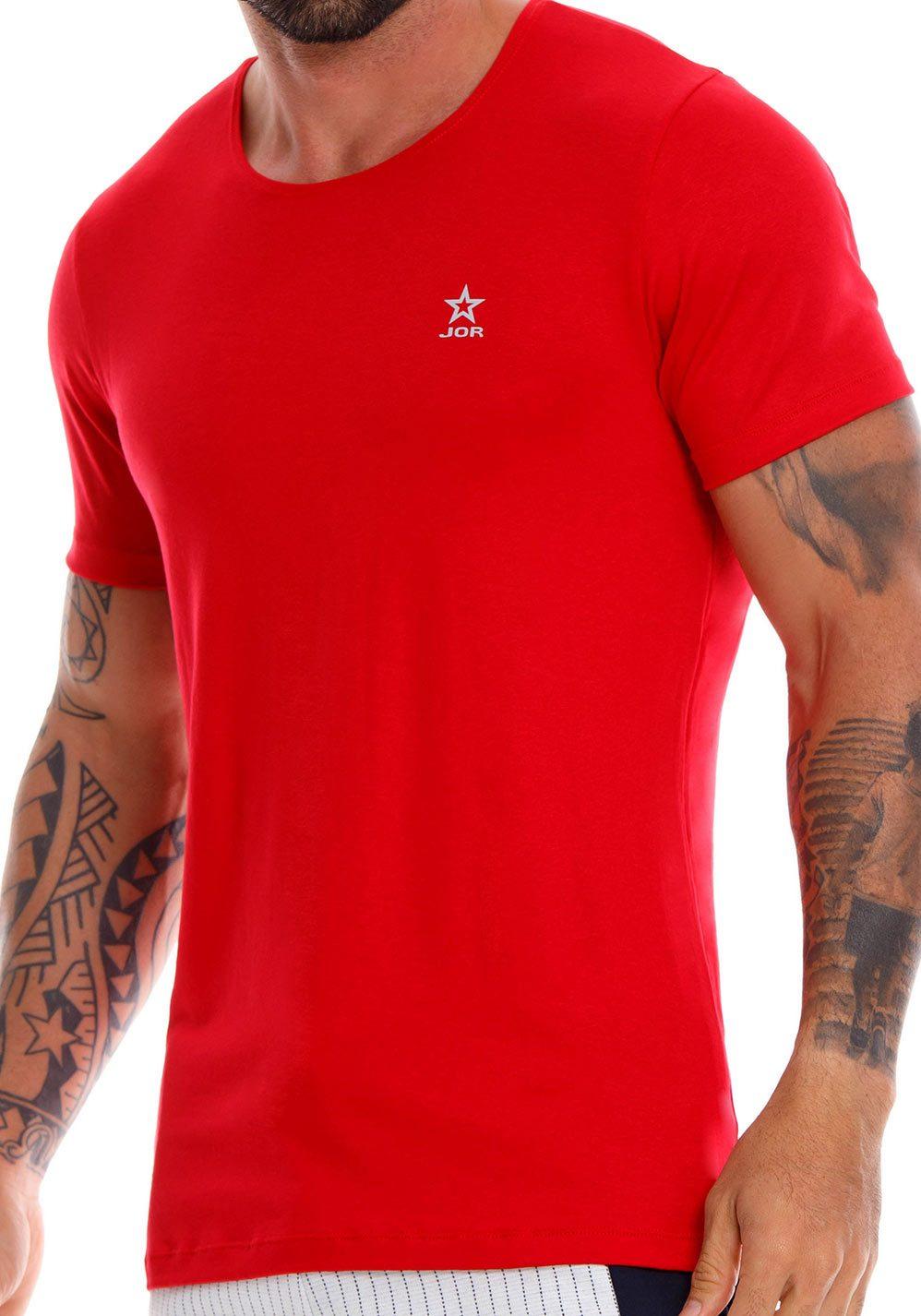 JOR T-Shirt Cross | Red