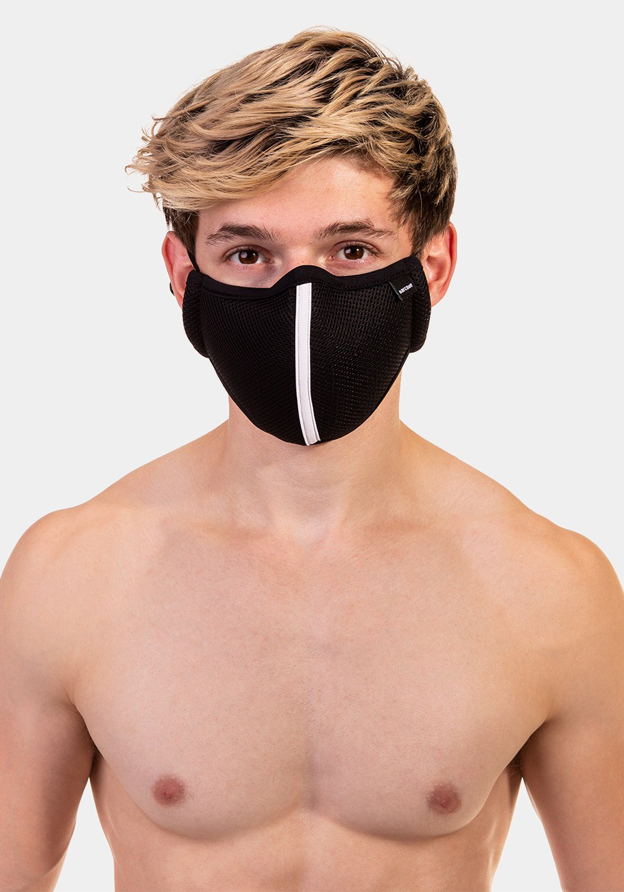 Barcode Berlin Mask Ensign Milo | Black/White