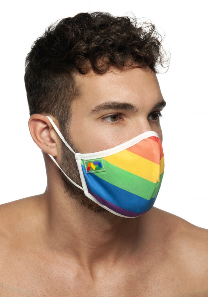 Addicted Rainbow Gesichtsmaske