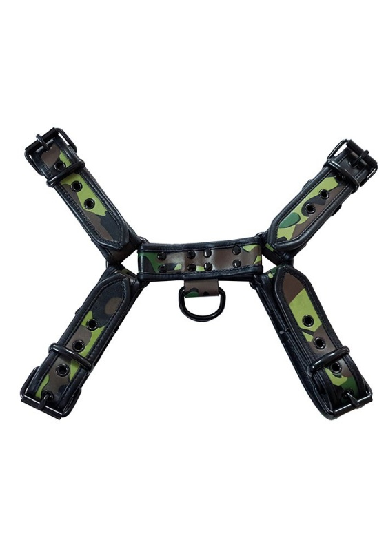 Rouge RHF1075 camo/black H-Front Harness
