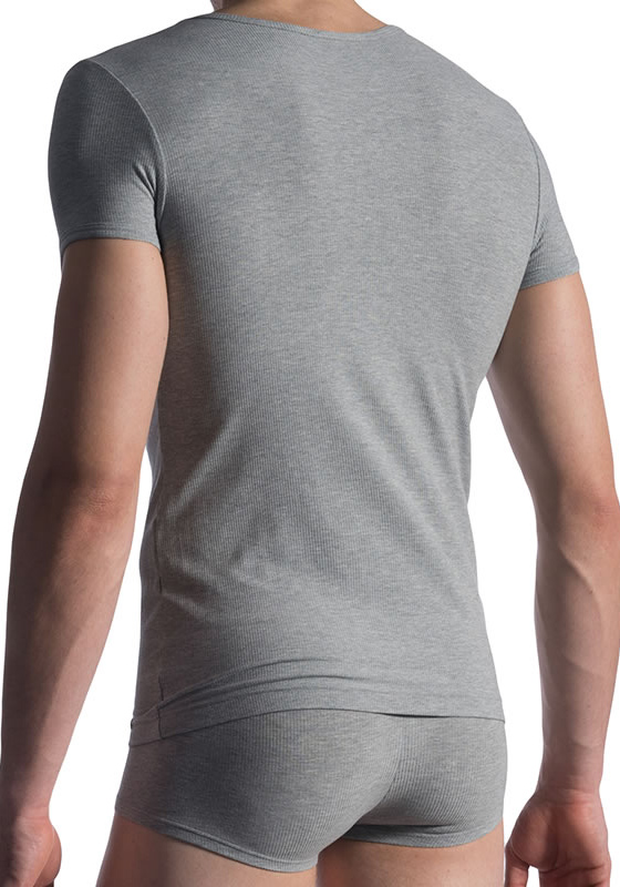 MANSTORE M811 V-Neck Tee low | Grey