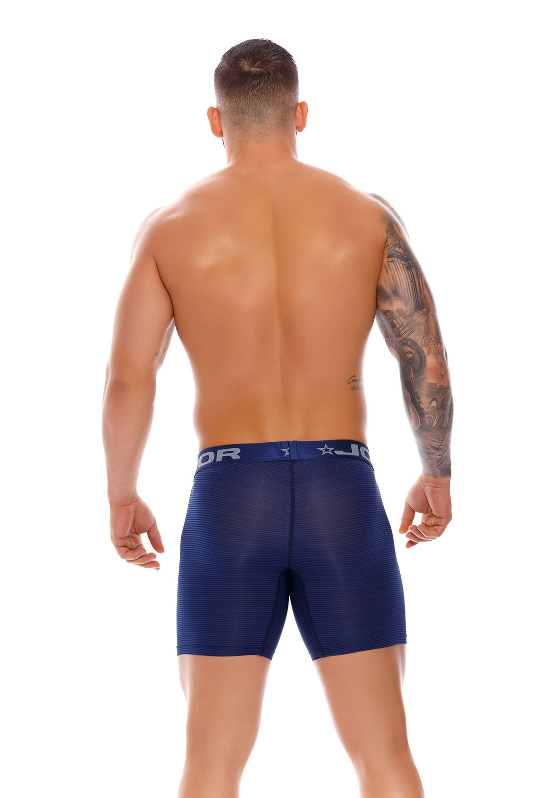 JOR Long Boxer Odeon Blue