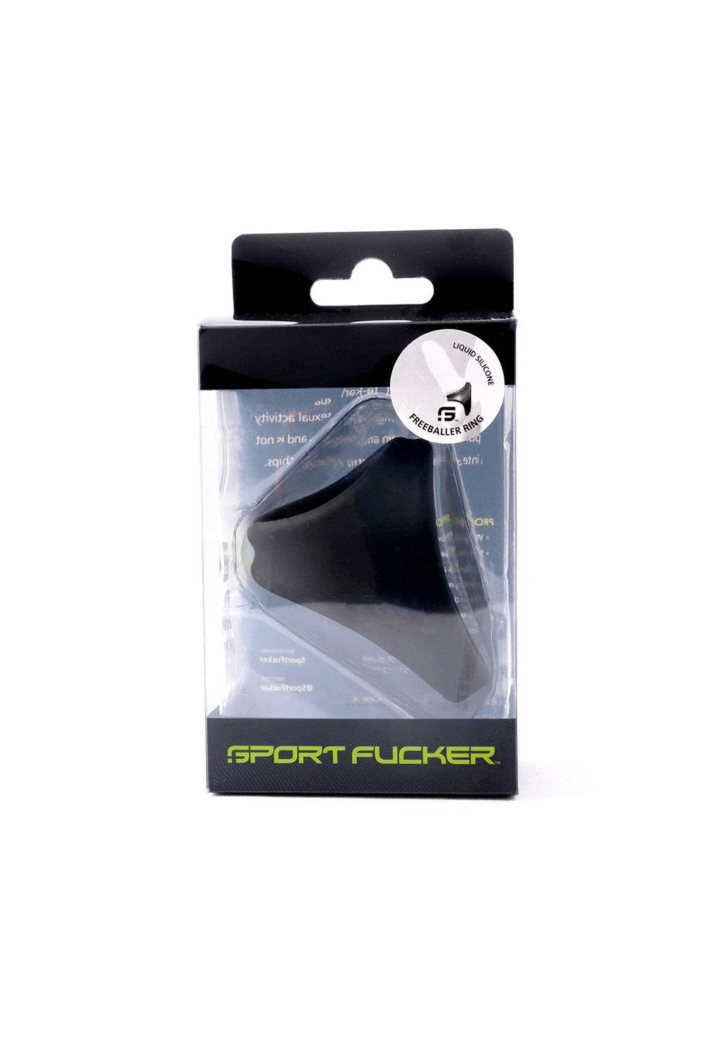 Sport Fucker: Liquid Silicone Freeballer | Black