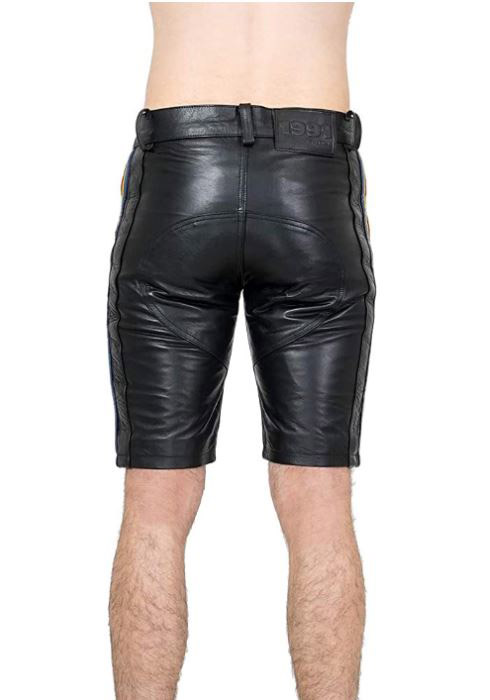 Bockle blk Gr. 30/30 Saddle Gay Shorts