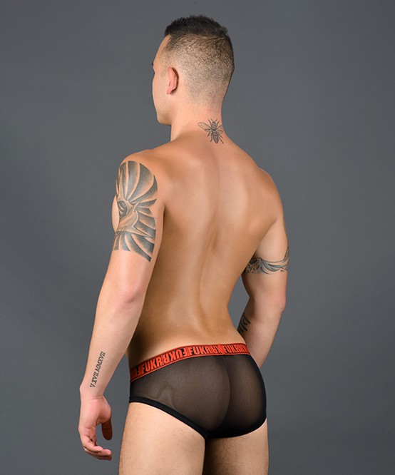 Andrew Christian FUKR Zip Mesh Brief