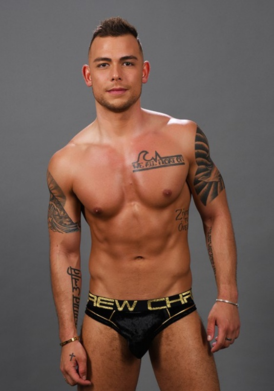 Andrew Christian Midnight Brief Almost Naked