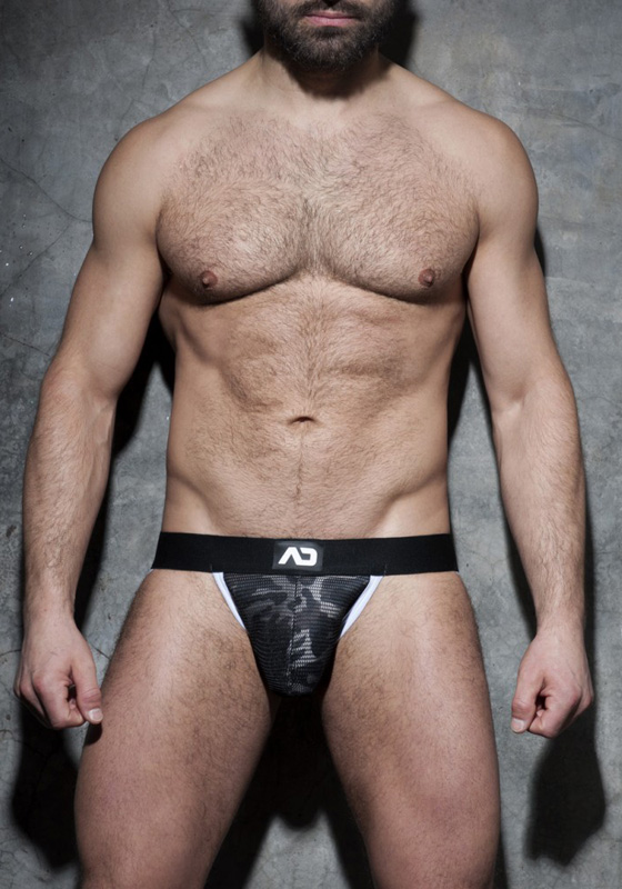 Addicted Camo Mesh Jock