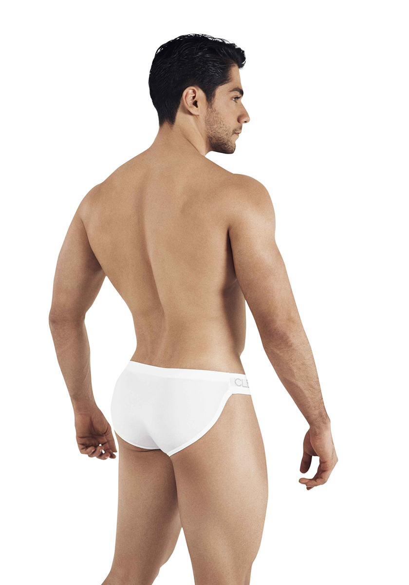 Clever Five Stars Latin Brief | White