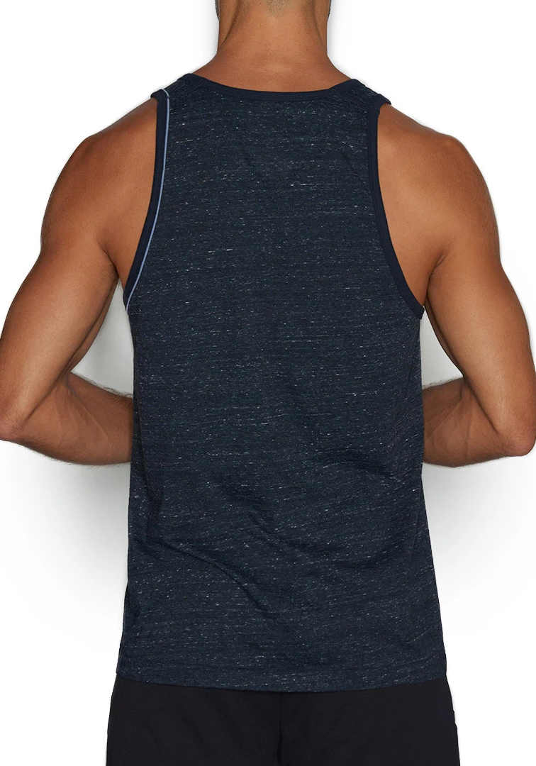 C-IN2 Hand Me Down Relaxed Tank Top | Navy