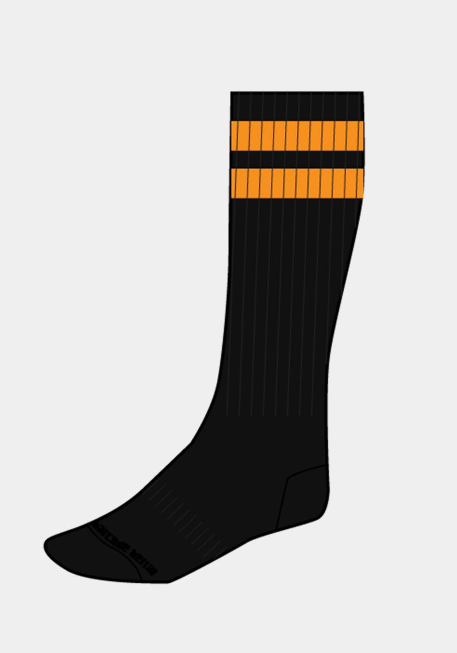 Barcode Berlin Gym Socks   Black/Orange