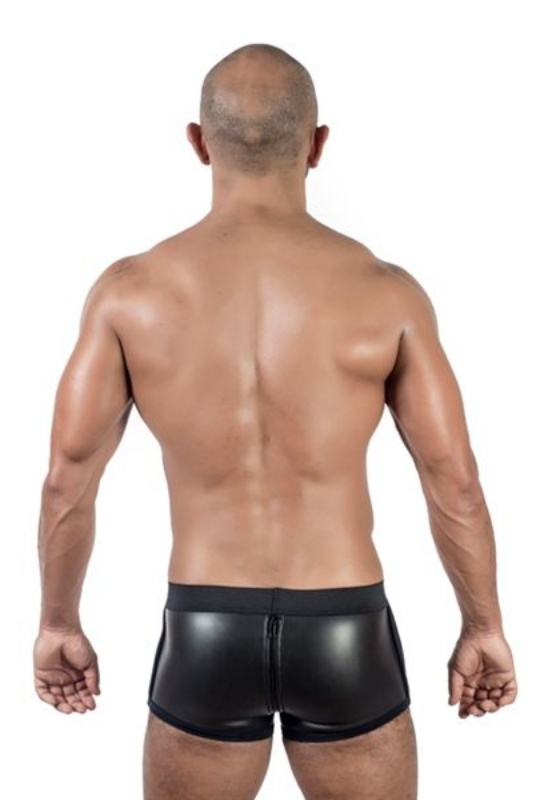 Mr. B: Neoprene Shorts 3 Way Full Zip