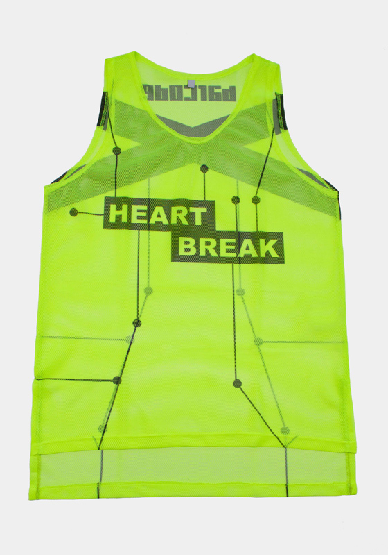 Barcode Berlin 91611 Tank Top Heartbreak