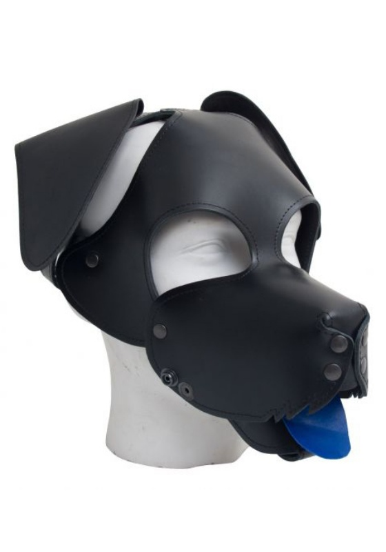 Mr. B: Floppy Dog Hood Maske (black)