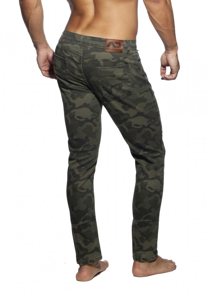 ADDICTED 837 Camo Jeans