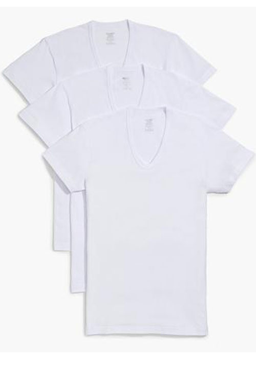 2(X)IST 020341 Slim V-Neck T-Shirt 3-Pack