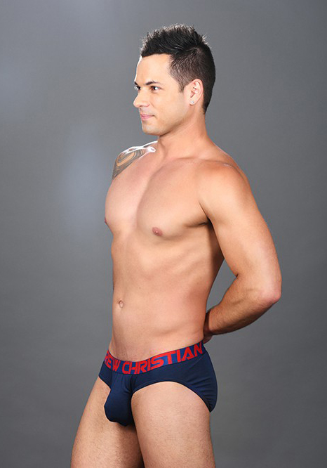 Andrew Christian Almost Naked Premium Brief Navy