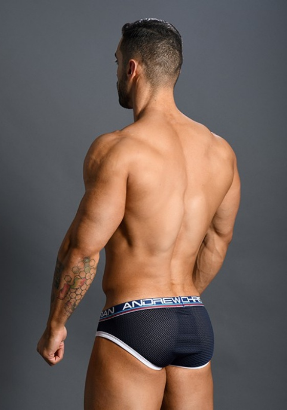 Andrew Christian 91150 Almost Naked Retro Mesh Brief