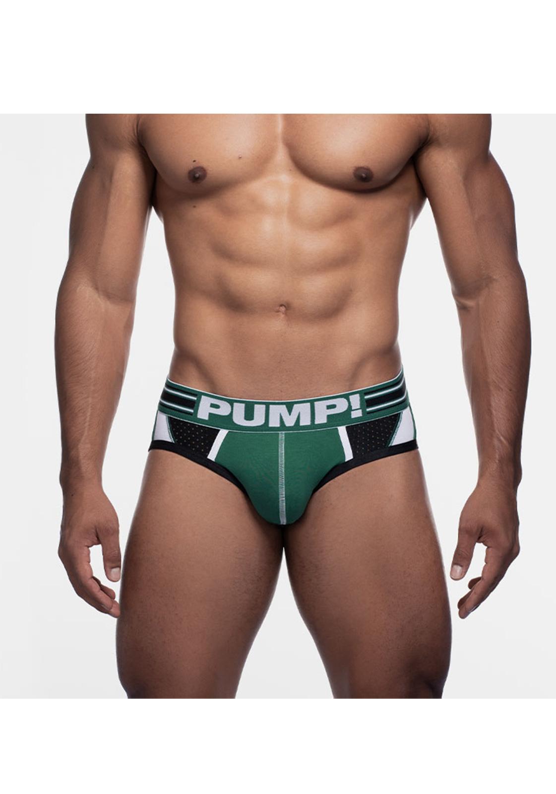 PUMP! Boost Sportboy Brief | Green/White/Black