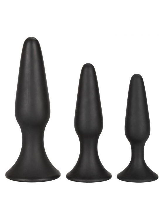 CalEx: Silicone Anal Trainer Kit (S,M,L)