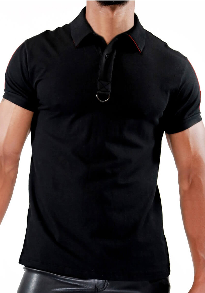 TOF Smart Polo | Black/Red