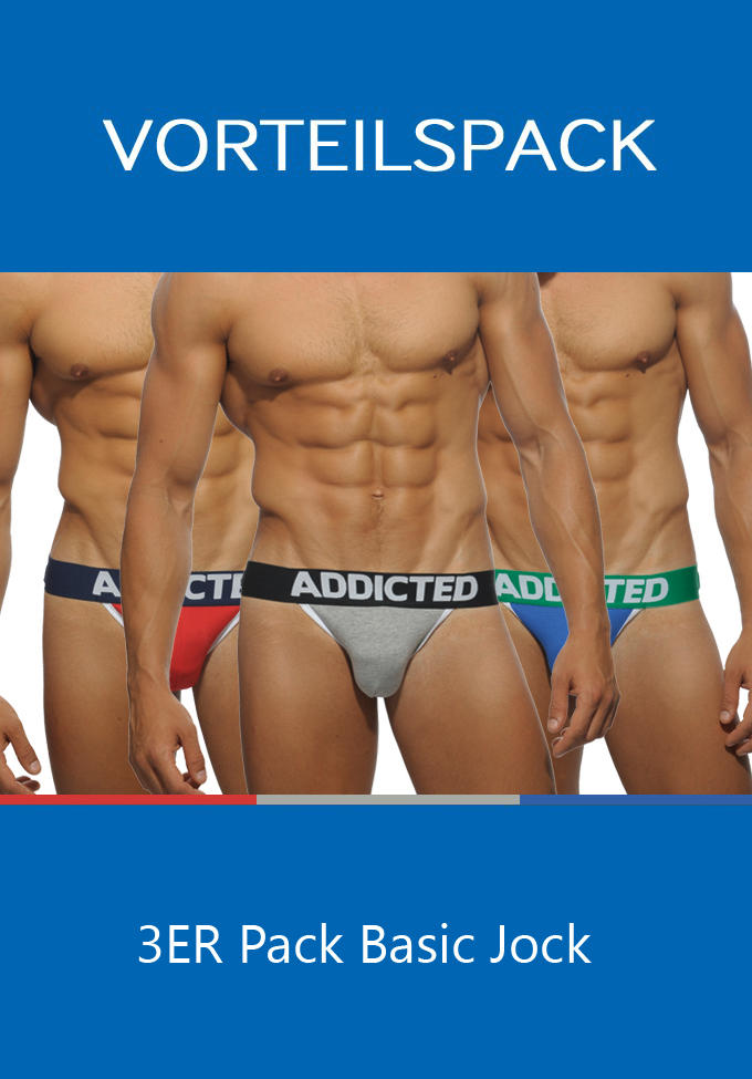 Addicted 363P 3 Pack Basic Jock