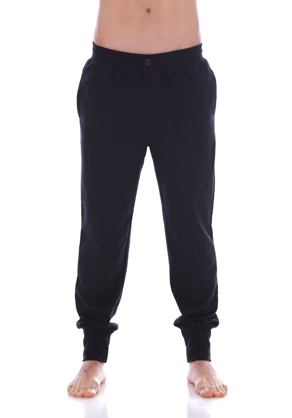 Mundo Unico Comfort Wear Long Jogger | Black