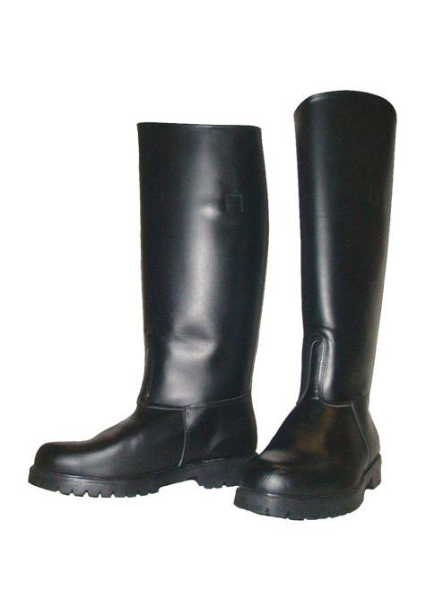 Mr B Police Boots Leder