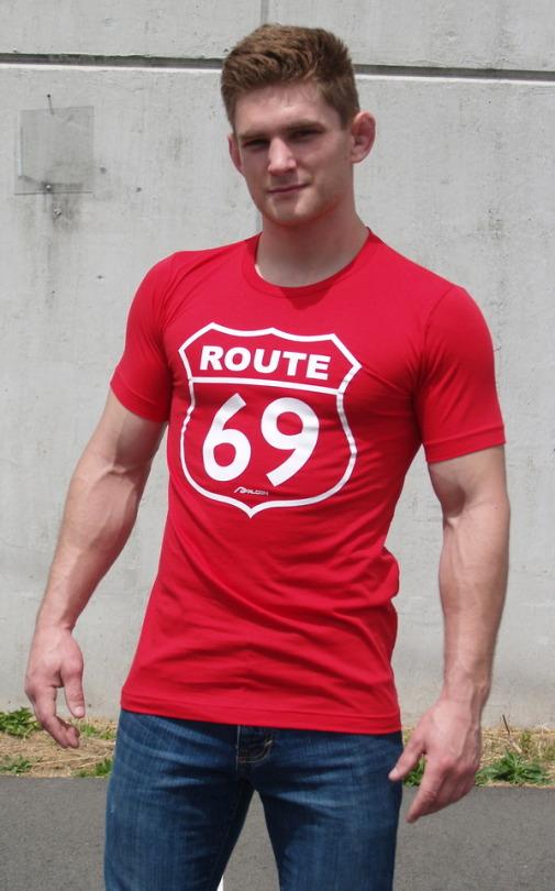 Ajaxx63 Route 69 Shirt | Black