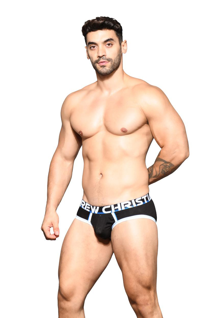 Andrew Christian CoolFlex Active Brief | Black