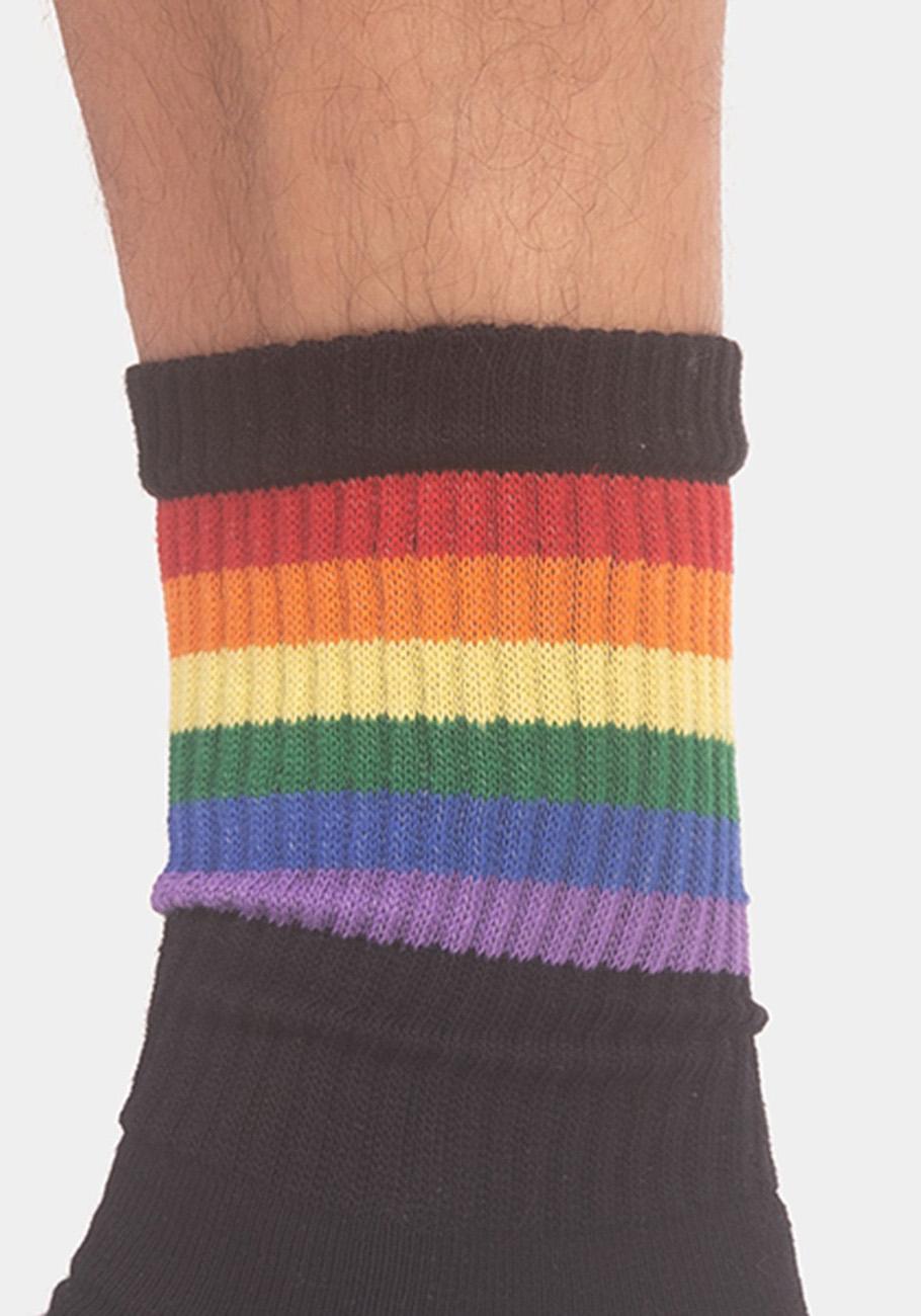 Barcode Berlin Pride Half Socks | Black