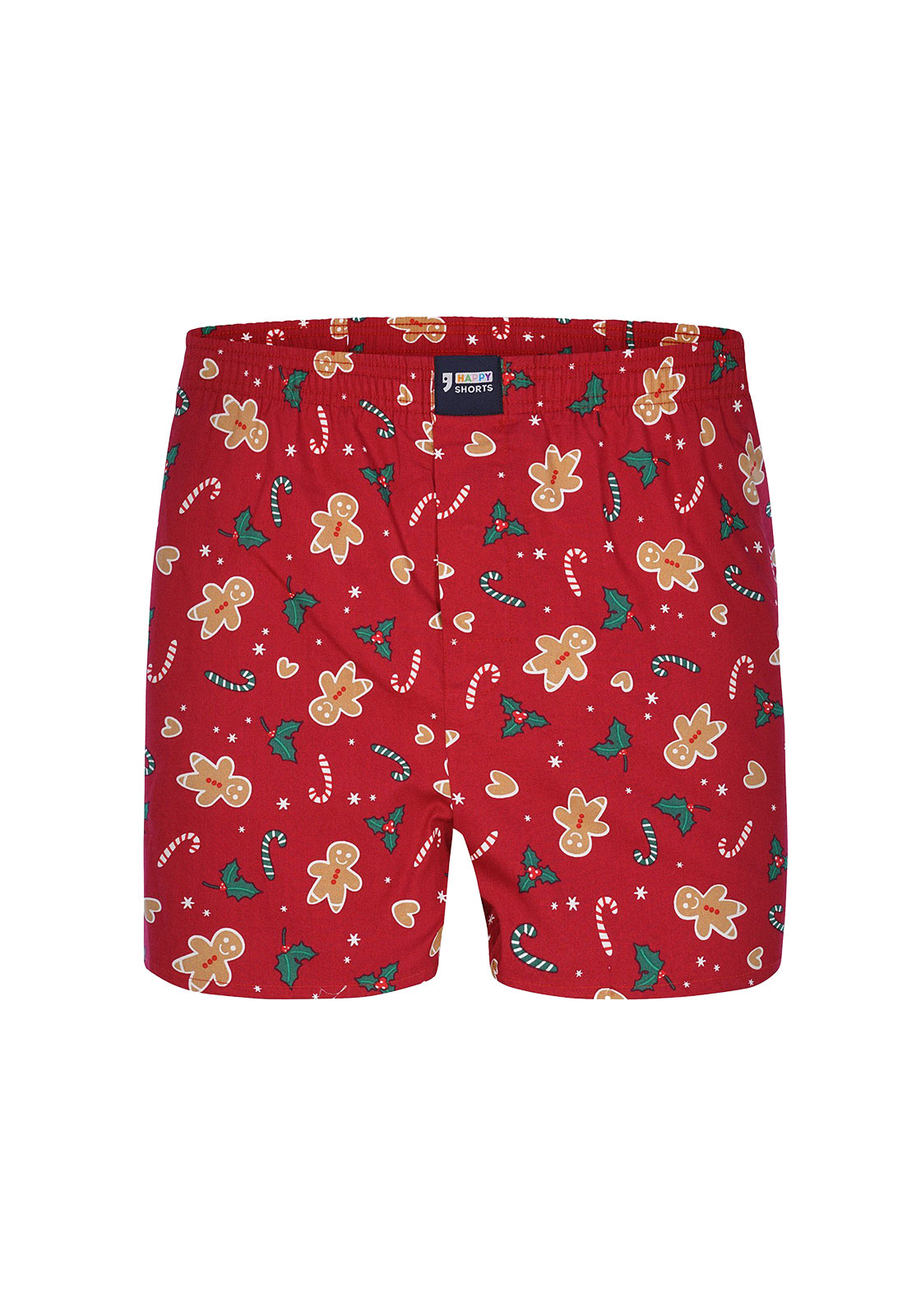 Happy Shorts S Boxer Gingerbread Man