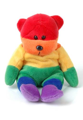 Regenbogen Bär