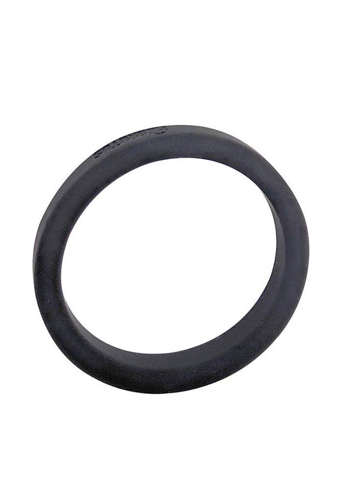 Brutus: Flat Slick Silicone Cock Ring