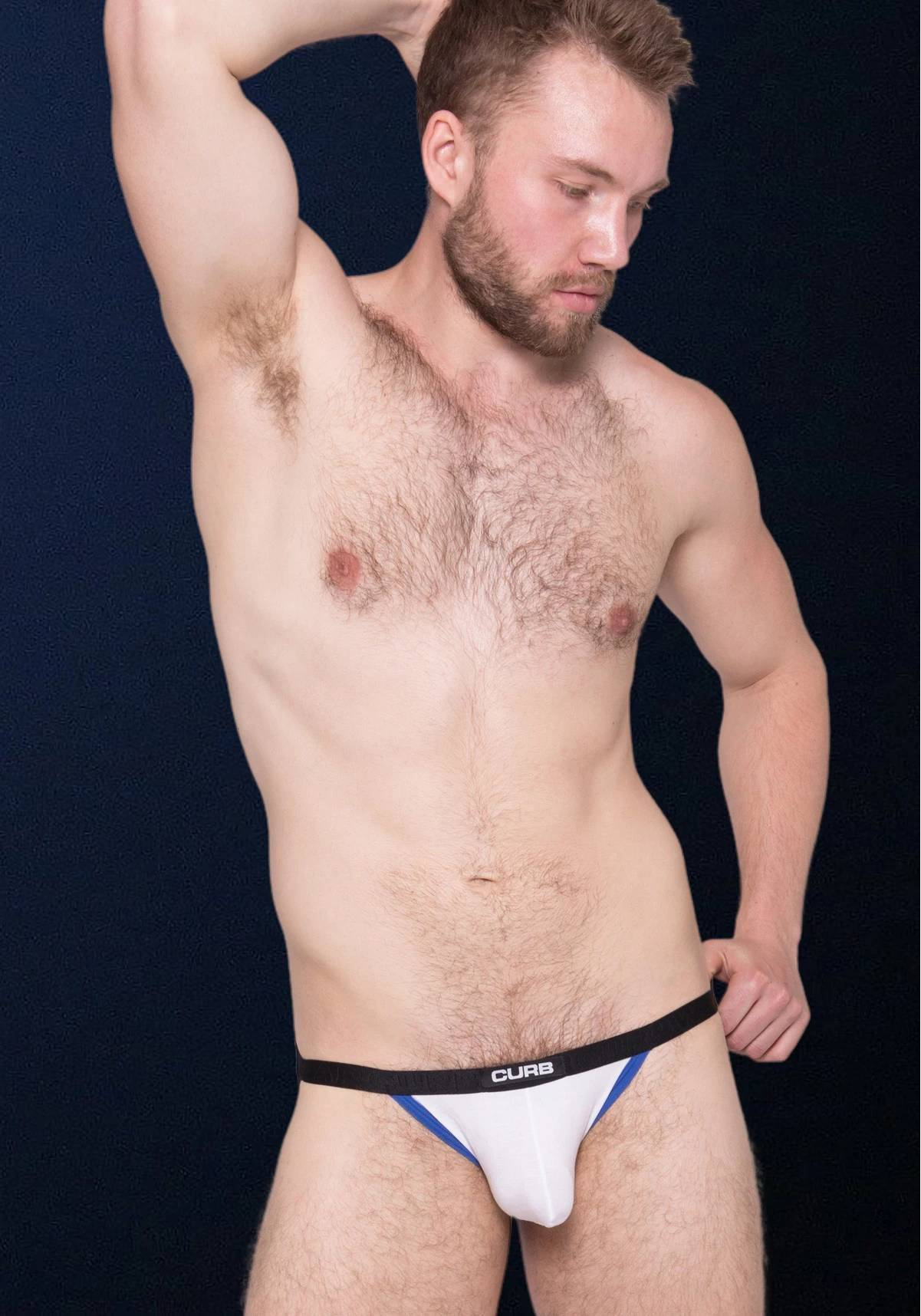 Curbwear Bulge Jock | White